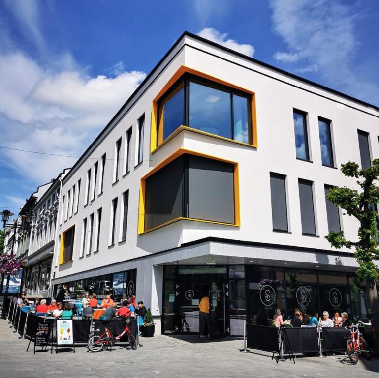 STED Arkitektur As, Rådhusgata 1, Skien (2020)